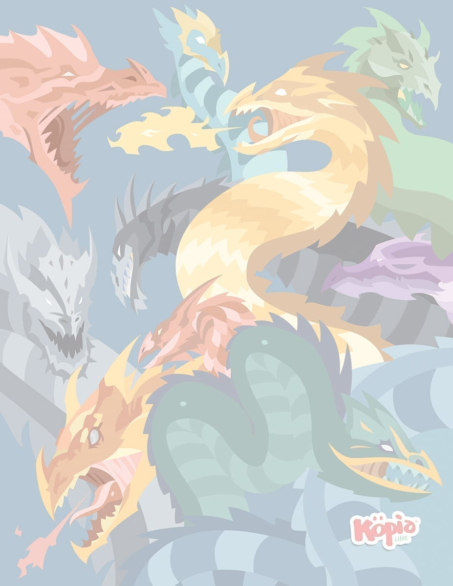 The Dragons Kopiographic Image Kopiography Drawing Draw Köpialine